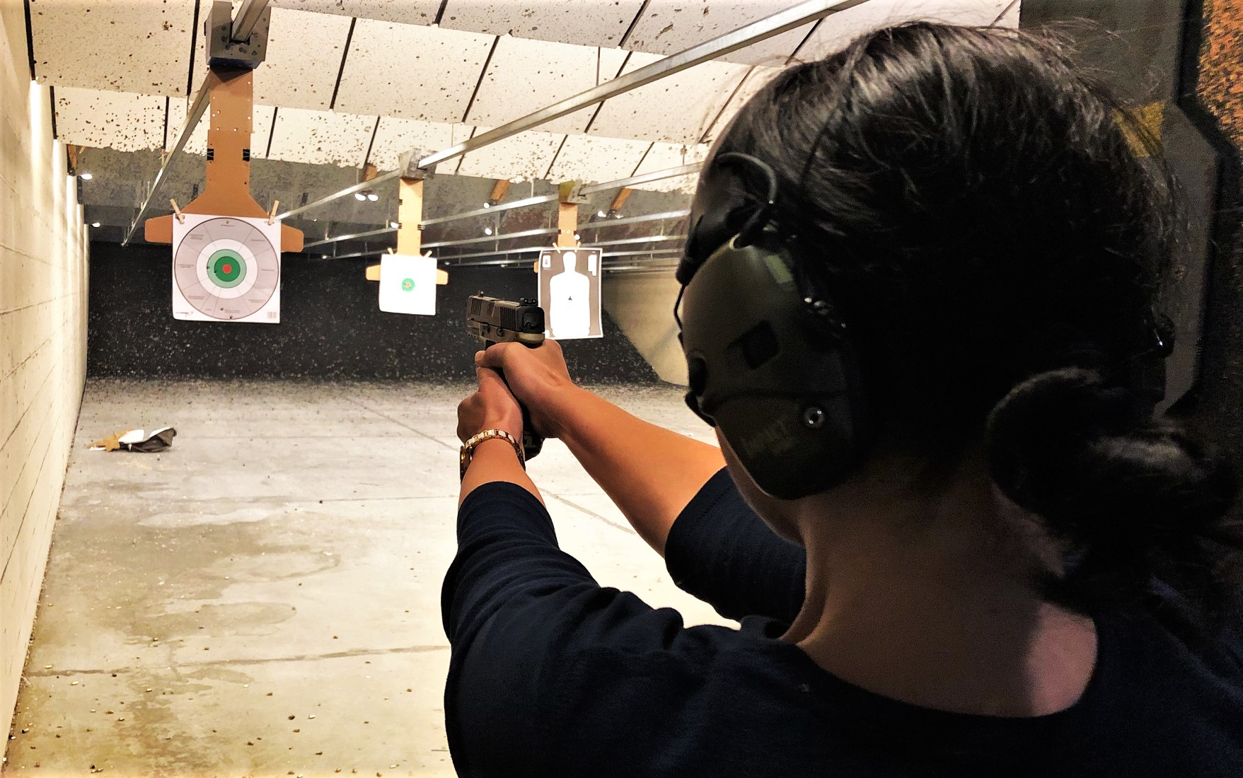 Rainey Firearms Training Joanna