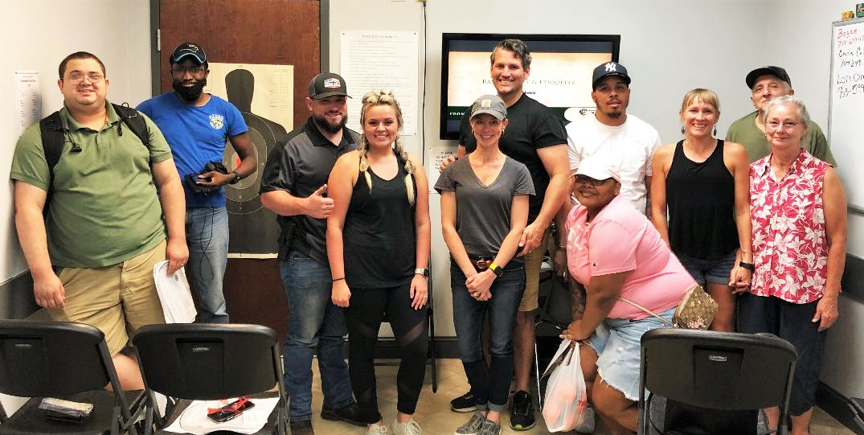 Rainey Firearms Training Class Pic