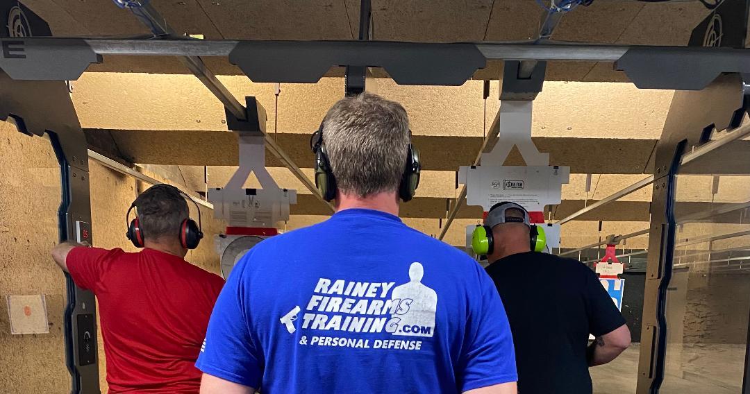 Rainey Firearms Training back